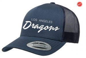 LA Dragons 2018 Blue Hat