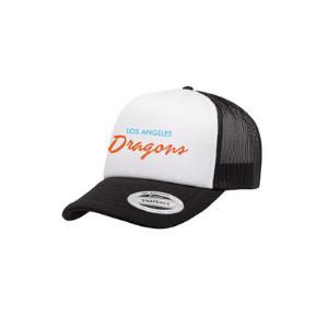 DRAGONS 2021 - BLACK TRUCKER HAT